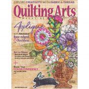 Quilting Arts Magazine - June / July 2019
