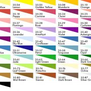 Deka Silk Paint colours, 500ml