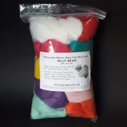 Jelly Bean mix of wool tops