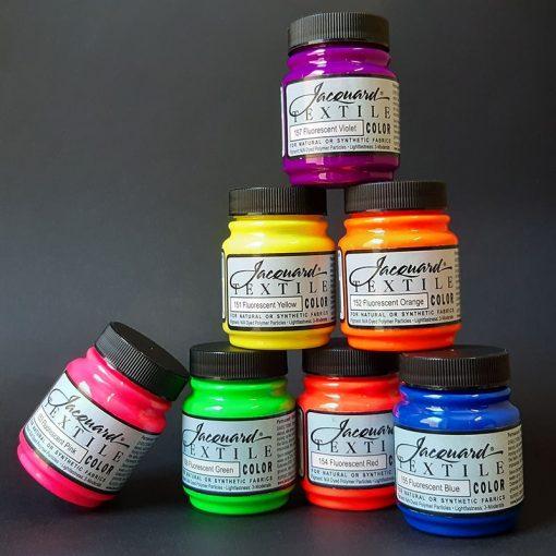 Jacquard Textile Color - Fluorescent Colours