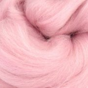 Candy Floss pink coloured wool tops