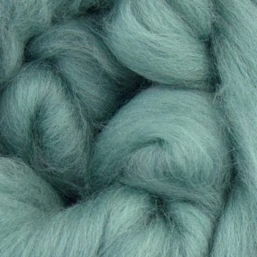 Light Teal Coloured Merino wool