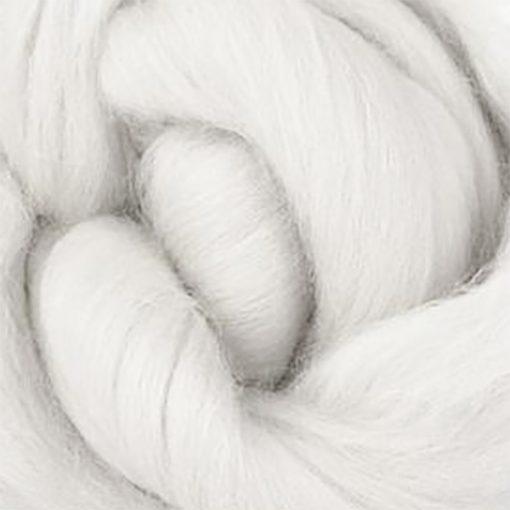 White Merino Wool Tops for Felting