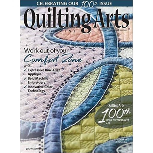 Quilting Arts August / September 2019
