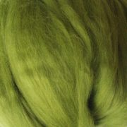 Chartreuse Dyed Merino Wool Tops