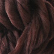 Chestnut Brown Dyed Merino Wool Tops