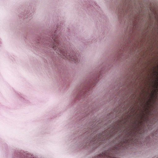 Old Rose Dyed Merino Wool Tops