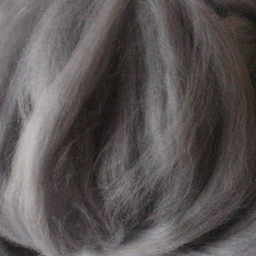 Light Grey Dyed Merino Wool Tops