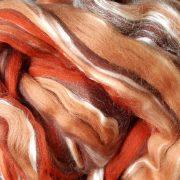 Dyed Merino Wool Tops & Silk Blend