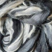 Merino Wool and Tussah Silk Blend, 100g