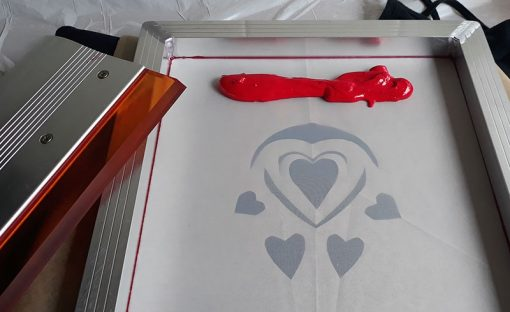 Screen Printing with Selectasine Eco Pigments