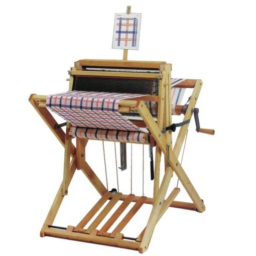 Schacht 4 shaft Wolf Pup Loom with Treadle Tracker