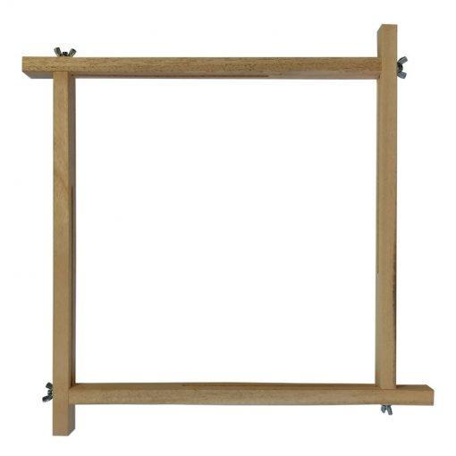 Adjustable sliding silk painting frame