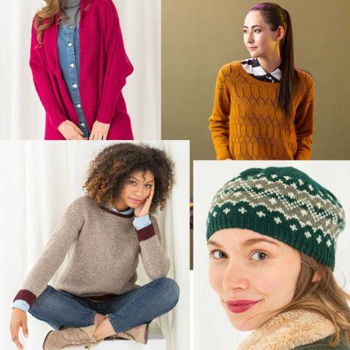 Knitscene Winter 2019 projects