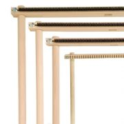 Lisa Frame Looms - small loom & larger looms with raddle sections