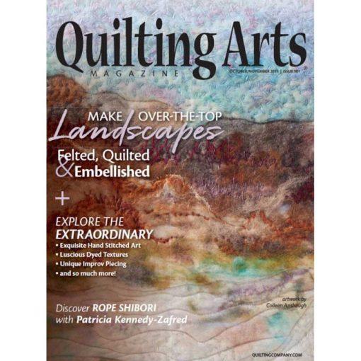 Quilting Arts Magazine Oct / Nov 2019