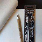 Daler Rowney Calligraphy Paper with Automatic Pen