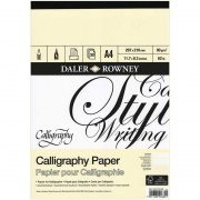 Daler Rowney Calligraphy Paper Pad
