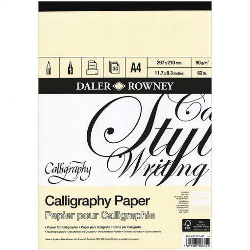 Daler Rowney Calligraphy Paper Pad