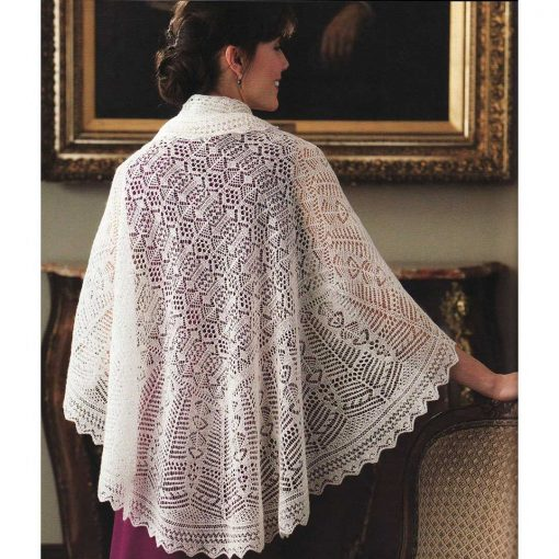 Wrapped in Lace by Margaret Stove - Shetland Shawl