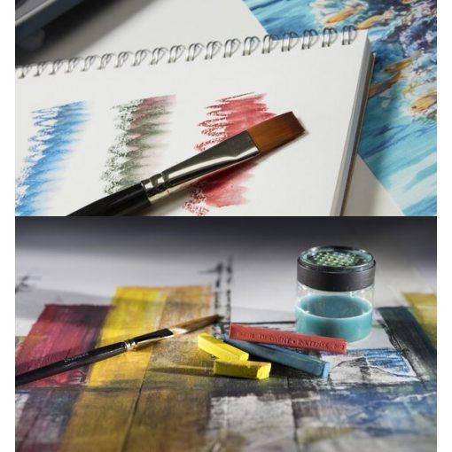 Painting with Derwent Inktense Blockis