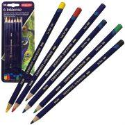 Blister Pack 6 Derwent Inktense Pencils