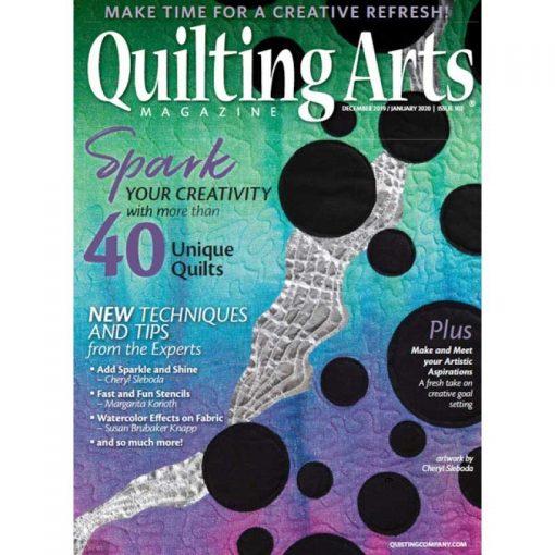 Quilting Arts Magazine - December 2019 / January 2020