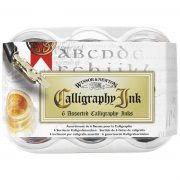 Winsor & Newton Calligraphy Inks Set 6 colours