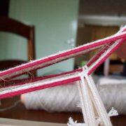 Heddles on the inkle loom