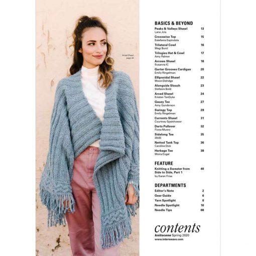Interweave knitting magazine
