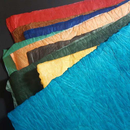 Leather effect Lokta paper