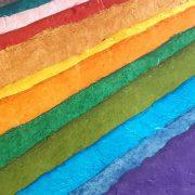 Lokta Paper made from Daphne Bush