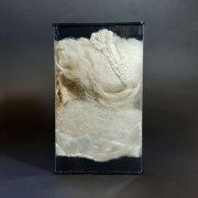 A selection of silk fibres