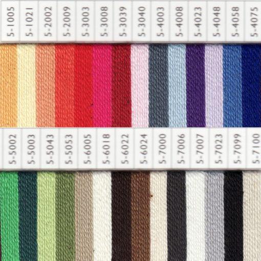 100% Bio Cotton Yarn samples