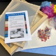 Contents of papermaking kit