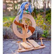 Kromski Fantasia Spinning Wheel varnished