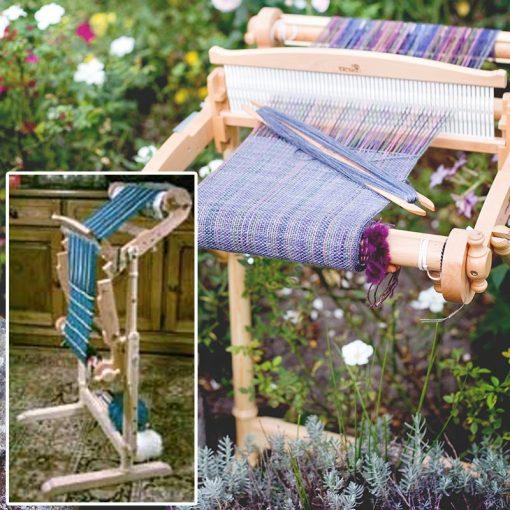 Harp Forte Rigid Heddle Loom on stand
