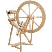 Kromski Interlude Spinning Wheel - unfinished wood