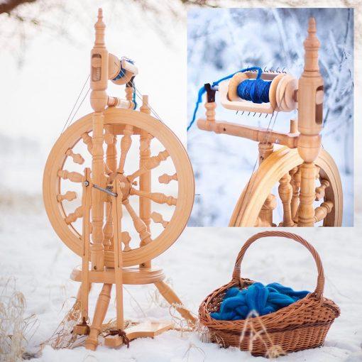 Kromski Minstrel Spinning Wheel from Poland