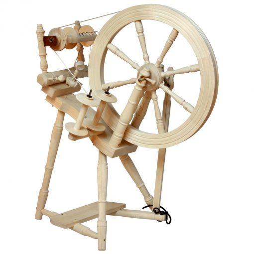Kromski Prelude Spinning Wheel unfinished wood