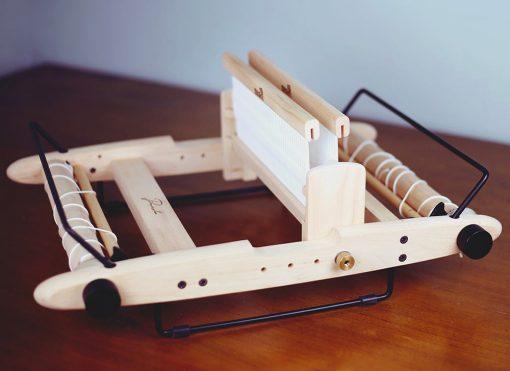 Double Heddle Block on Kromski Presto Loom