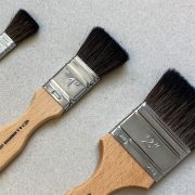 Soft Brushes for Lacquering