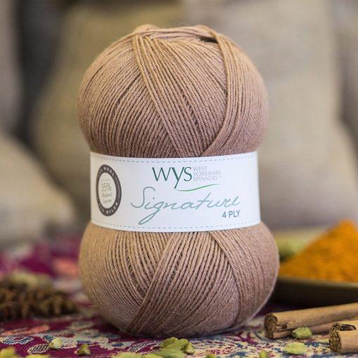Spice Rack Signature Series 4 ply Yarn - Cinnamon 100g