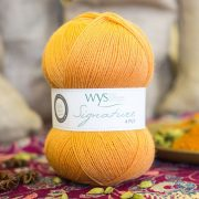 Spice Rack Signature Series 4 ply Yarn - Tumeric 100g