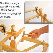 How to use the Kromski Warp Helper on Harp Forte