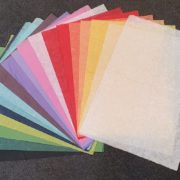 Coloured Mulberry Papers