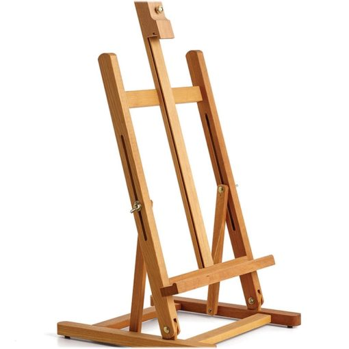 Small table easel space saving