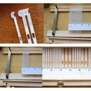 Weaver's Choice Heddle Reeds for Kromski Presto Loom