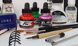 Artist inks