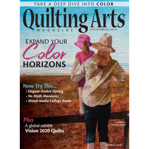Quilting Arts August September 2020